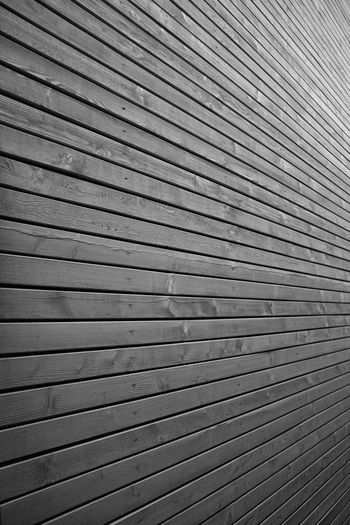 Detail of wooden wall