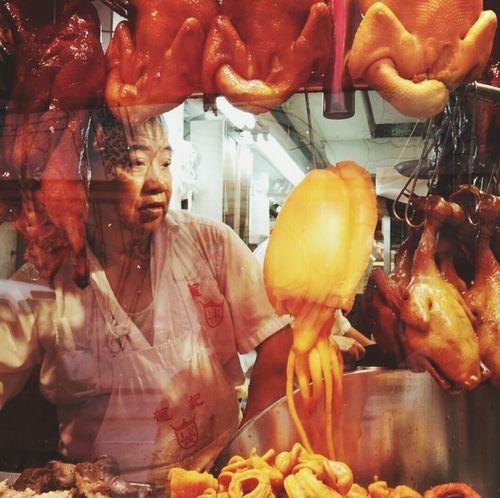 Specialty meat shop, Hong Kong Eye4photography  Streetphotography Street Hong Kong Style Hongkongfood HongKong