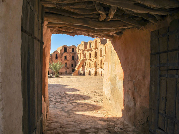 Tunisia Traditional houses, holidays Architecture Built Structure History The Past Ancient Building Arch Building Exterior Old Ancient Civilization Old Ruin No People Travel Destinations Day Nature Sunlight The Way Forward Wall Direction Tourism Ruined Outdoors Architectural Column Deterioration Archaeology