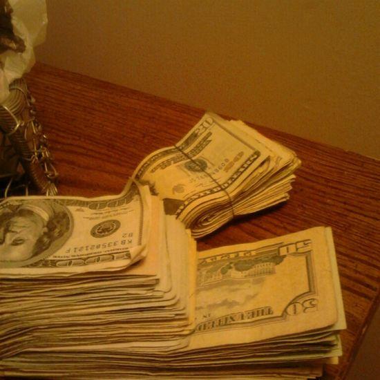 I'm starting 2 think money really do grow on trees...