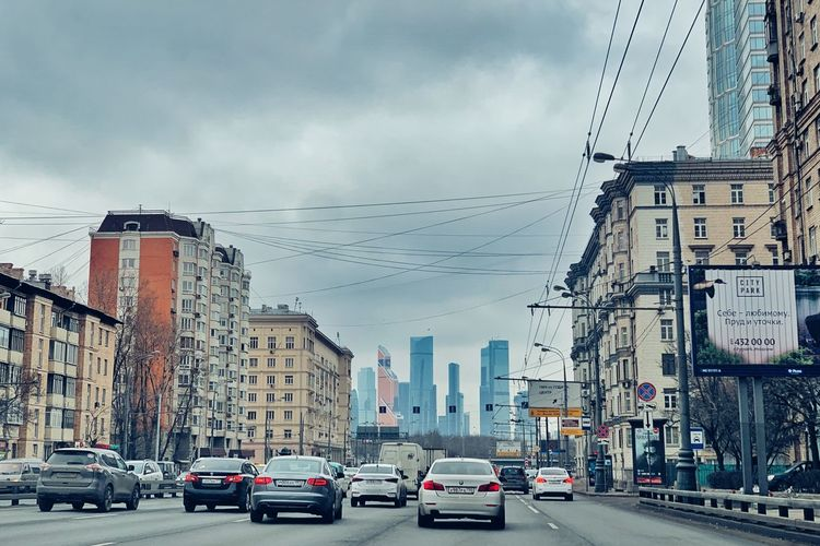 City views 🏙 Moscow City Urban Photography IPhoneography Cityscape Buildings Architecture Urbanphotography Urban Geometry Architecture Building Exterior City Built Structure Motor Vehicle Car Transportation Mode Of Transportation Street Land Vehicle Sky City Life Building Office Building Exterior City Street Road Traffic Cityscape
