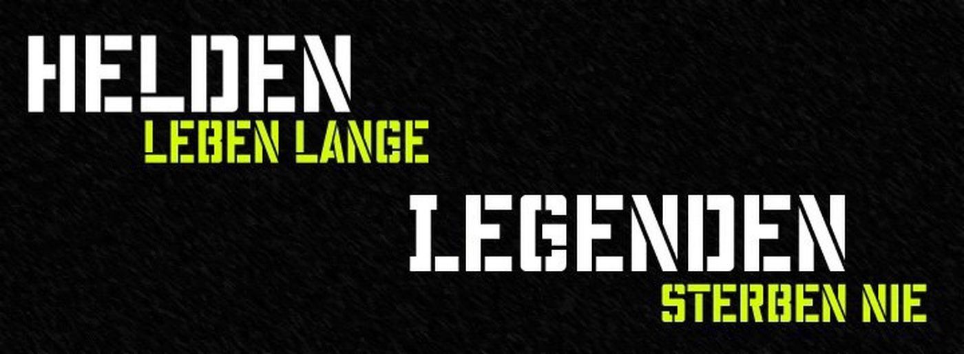 HELDEN LEBEN LANGE LEGENDEN STERBEN NIE @BöseOnkels (danke @DanielWeinmann für den Hinweis) 👍👄 Leben Legenden HERO Heroes Live Long Never Die Legend Like4like Likeforlike Share If You Are Hero Share If You Are Legend Are You Legend German Phrases Phrase Sprüche Helden Liken Legenden Teilen We Are Legend Böse Onkelz