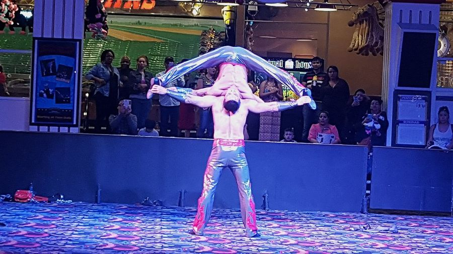 Show of strength. At Circus, Circus in Las Vegas, NV Hanging Out Hello World Casino Vacation Pic! Strength And Mind Set Circus Circus Circus Tricks Las Vegas Enjoying The Show!