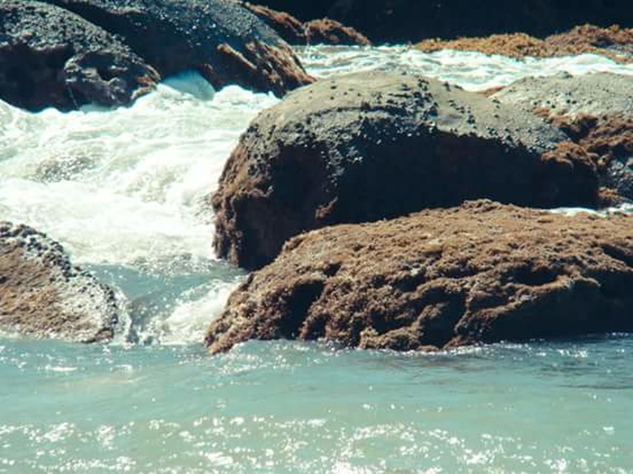 water, rock - object, nature, sea, scenics, no people, beauty in nature, outdoors, motion, travel destinations, day, wave, power in nature, sky