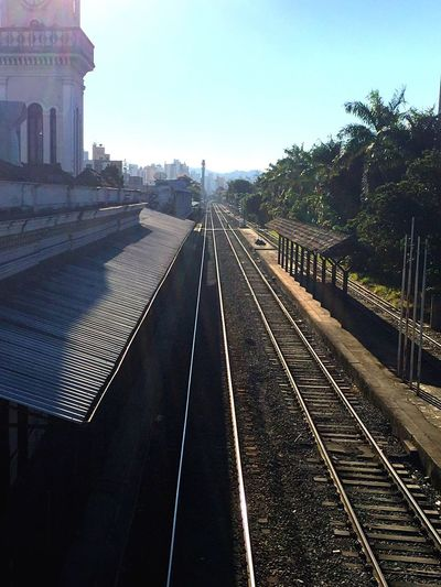 At the historical Train Station in my city. Juiz De Fora Brazil . N°2