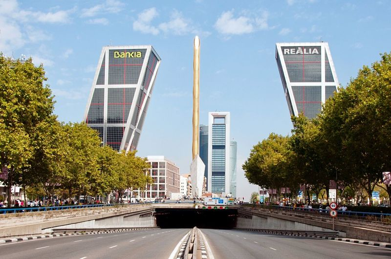 Architecture Road Built Structure Day City Building Exterior Outdoors Modern Tourist Attraction  Travel Destinations Viajando Travel Travelling Traveling Madrid Madrid Spain Madrid, Spain Kio Towers Kio Tower España SPAIN