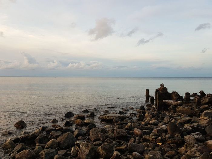 Rocky Beach Sea