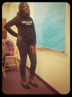 cooling in class one day..
