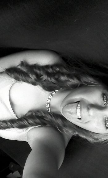 Its okay to be silly sometimes (: Tongue Out Blackandwhite Dyinginside