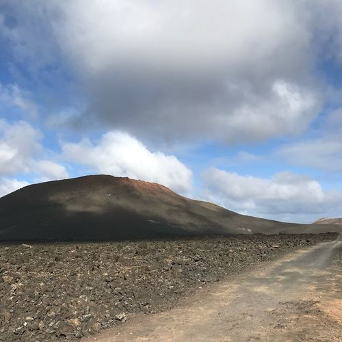 Connected By Travel Nature Geology Landscape Beauty In Nature Sky Scenics Mountain Cloud - Sky Physical Geography Smoke - Physical Structure Tranquility Volcanic Landscape Steam Tranquil Scene Day No People Outdoors Arid Climate Hot Spring Lanzarote