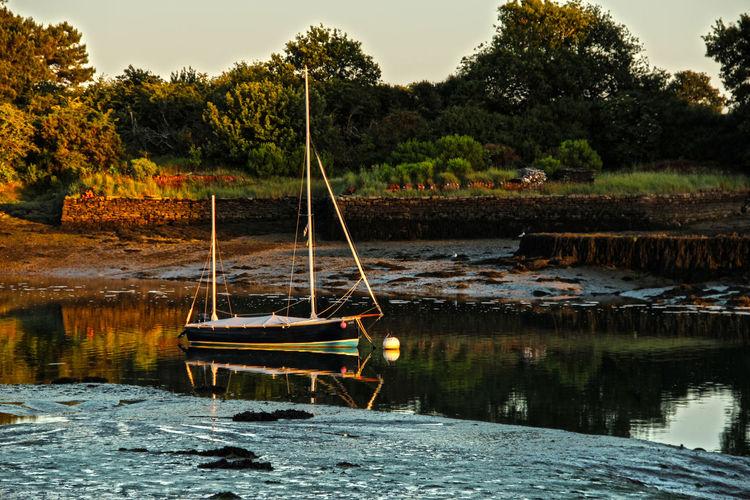 Boat Harbor Lake Outdoors Reflection Sailboat Water Waterfront