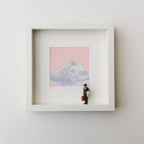 EyeEm Selects Picture Frame Frame Adult One Person Photographing People Painted Image Fine Art Painting Artist Modern Day Photograph Indoors  Photography Themes Freshness EyeEm Gallery ArtWork Minimal Painting Art Wall Pictureoftheday Wall Frame Framed