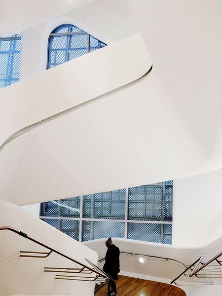 Open Edit Architecture Interior Design Dongdaemun Design Plaza EyeEm In Seoul Stairs