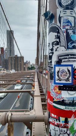 The Photojournalist - 2015 EyeEm Awards New York Manhattan Bridge Streetphotography