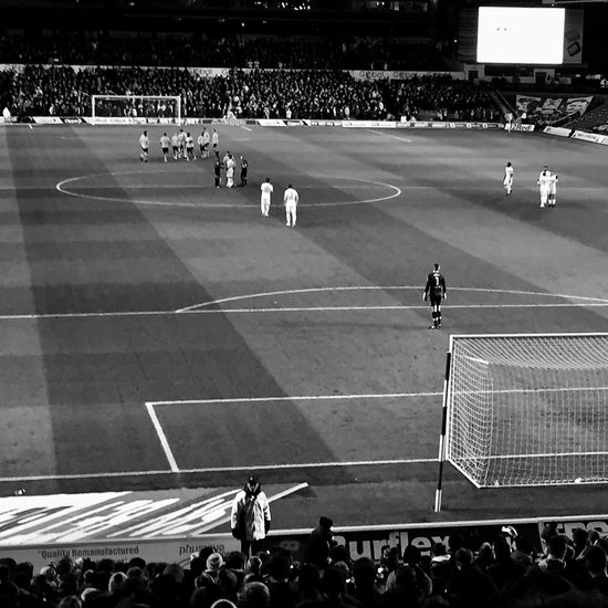 Leeds United Lufc Elland Road Stadium Crowd Competitive Sport Match - Sport Football Game Football Stadium West Yorkshire Uk