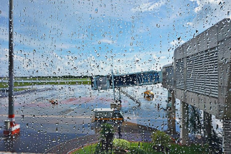 Bright and Shiny just after Heavy Rain From My Point Of View it is Strange Wheather Landscape_Collection Landscape_photography at the Airport Airportphotography Nature Nature_collection Indonesia_photography Indonesia_allshots EyeEm Best Shots