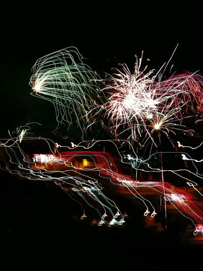 Night Illuminated Firework Display Celebration Long Exposure Fireworks Malaysia Truly Asia Chinese New Year 2017 Cny Celebration Firework - Man Made Object No People Exploding Motion Sparks Lovely Sky