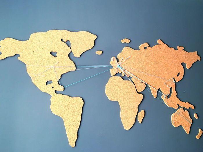 EyeEm Selects World Globe Map Worldwide Continents Design