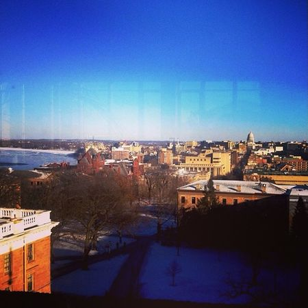 Studying with the best view on campus UW Finalsweek