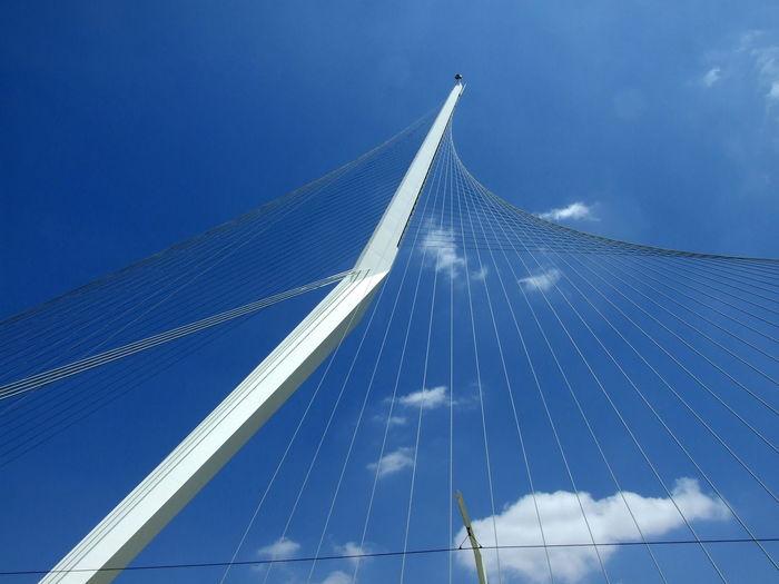 Sky Architecture City Bridge Bridge - Man Made Structure Blue Tramway Bridge EyeEmNewHere