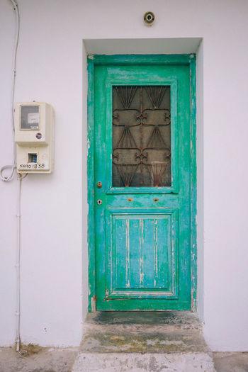 Green Door Door