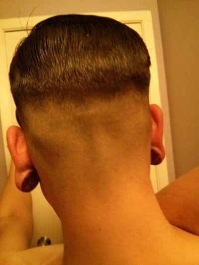 New Haircut :) Sofreshandsocleanclean Wooden Plugs Bathroomselfies