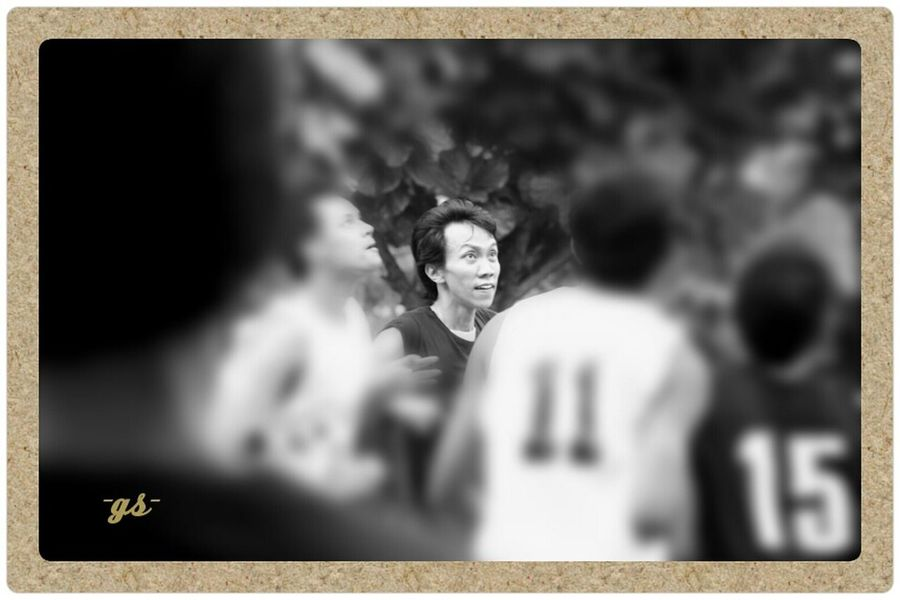 "Team__(9/bw) ""Offensive rebound"" Basketball Monochrome B&w Photography Portrait thank u bro ""Disa"""