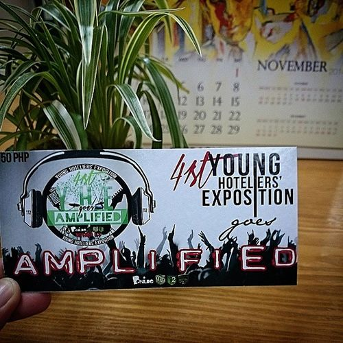 The 41st Young Hoteliers' Exposition goes Amplified ! 🎆 . . . November 6 to 8, 2014 AKIC Building . . . YHE Younghoteliersexposition Benilde csb