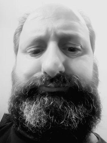 Traurig Portrait Men Beard Human Face Mustache Headshot Close-up Human Head