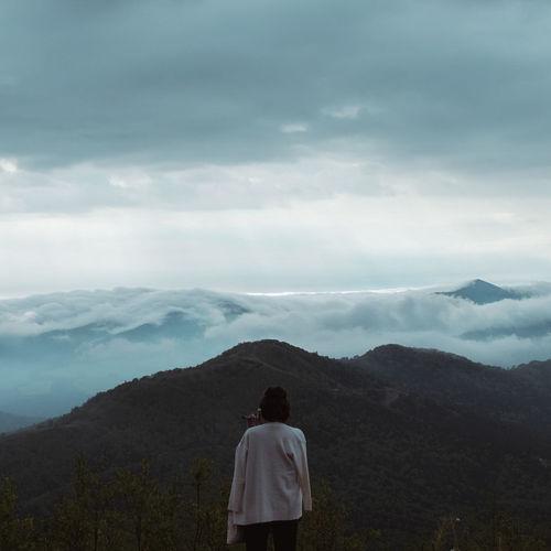 云海 Mountain Cloud - Sky Mountain Range Sky Nature Outdoors Hokkaido,Japan Morning Seaofclouds Unkai Terrace Sommergefühle EyeEm Selects EyeEmNewHere