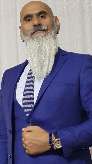 Well-dressed Hello World Blue Mglmn Dünyaküçük