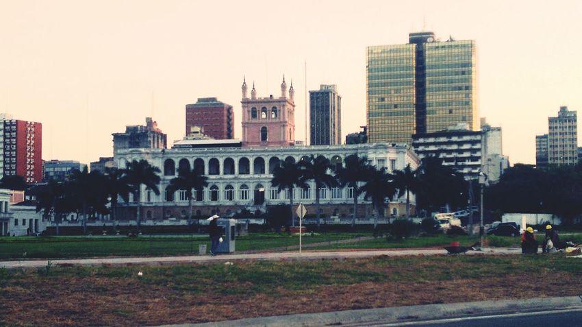 Asunción Py Palacio de López. Hello World Asunción