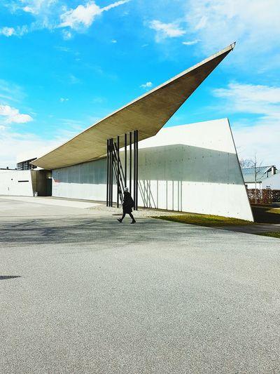 Vitra Campus Day Sky Industry Architecture Outdoors Vitra Cloud - Sky Zaha Hadid Architects