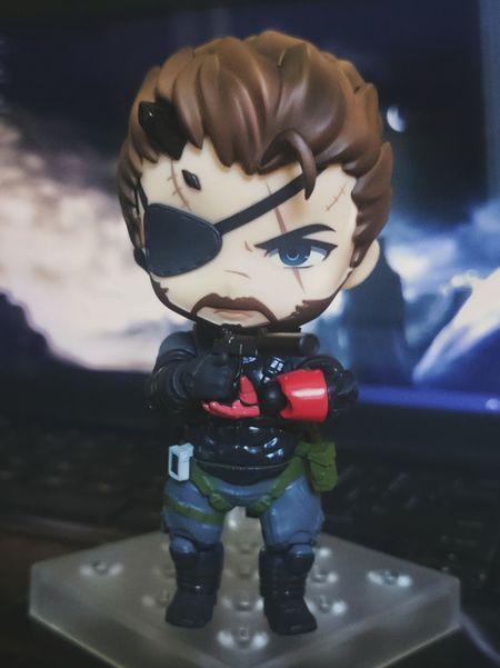 Big Boss Nendoroid figurine. EyeEm Selects Nendoroid Figurine  MGS Gaming Game Franchise Big Boss Character Metal Gear Solid MGSv Metal Gear Solid 5