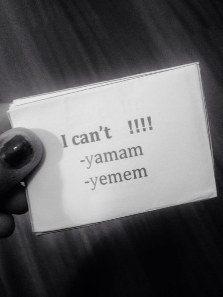 Turkish Text Grammar Can't