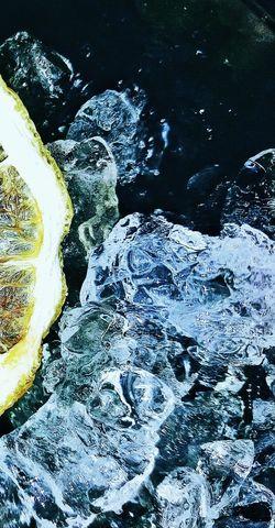 Close-up Crashed Ice Lemon Slice Samsungj5photography📱 3XSPUnity