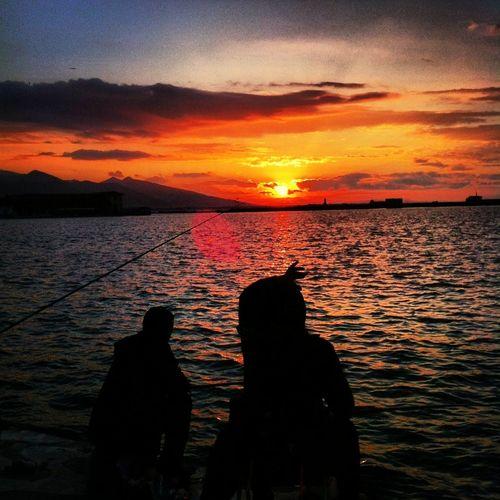 Taking Photos Hello World Hellooo Eyem !  Turkey izmir #alsancak #sunset