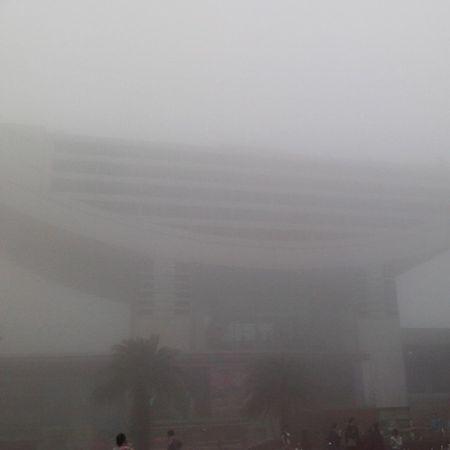 霧鎖凌霄閣 Hkig 2014 ThePeaktower 凌霄閣 fog