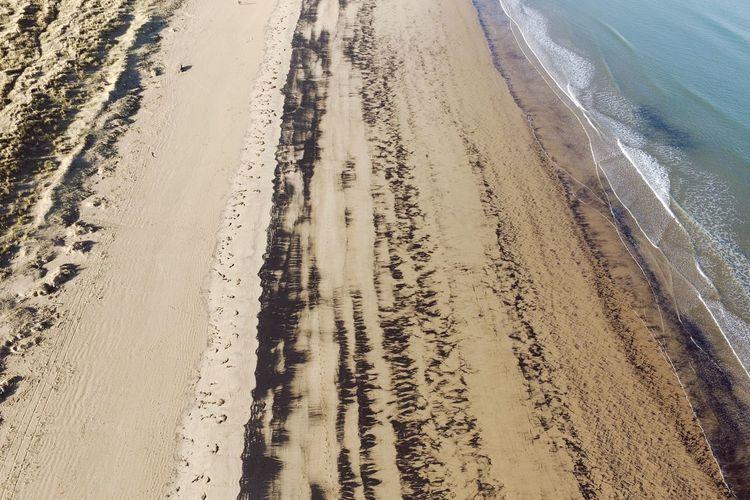 Sand at beach