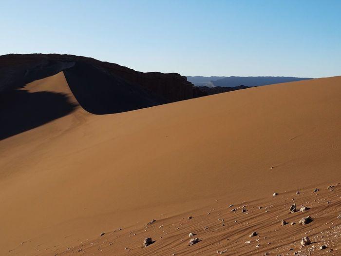 Atacama Desert Idyllic Landscape Moon Valley No People Non-urban Scene Outdoors Travel Destinations