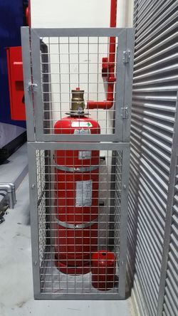 Red Protection Safety No People Crime Law Day Outdoors Prison Firesuppression Fire Suppression Architecture Red Pipe - Tube Fire Safety Occupational Safety And Health Firefighters Fire Service System