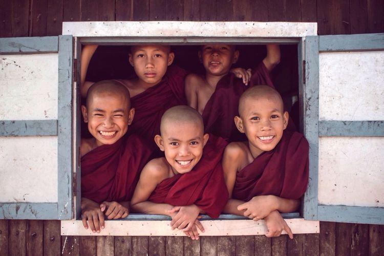 Happy Novices Myanmar Novices Happy Smile Simple Life First Eyeem Photo