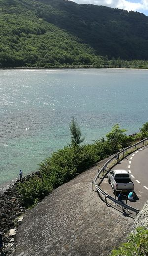 Coastal Beauty Shimmering Sea