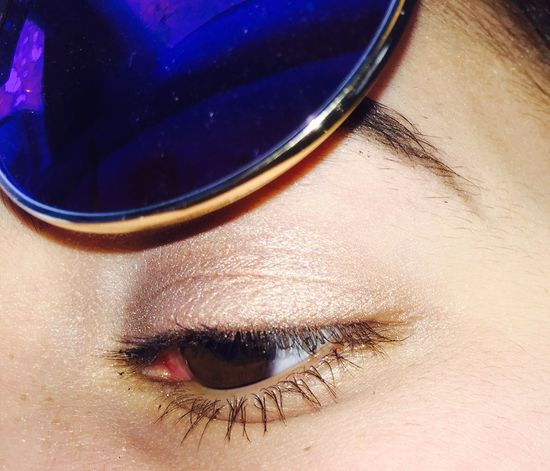 Freckles Tan Skin Boho Sunglasses Winter Sun