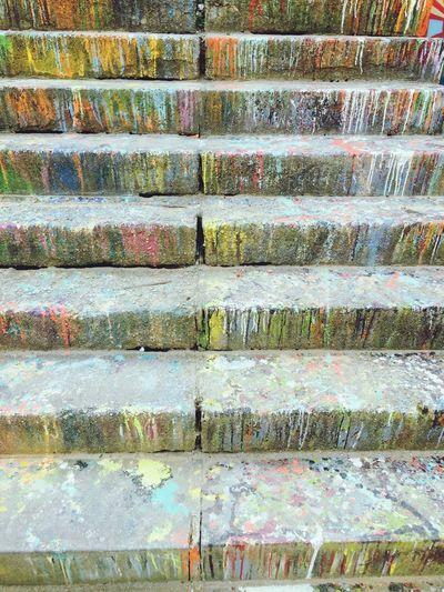 Stairs Stairways Eyem Stairways Colors Painting Colourful
