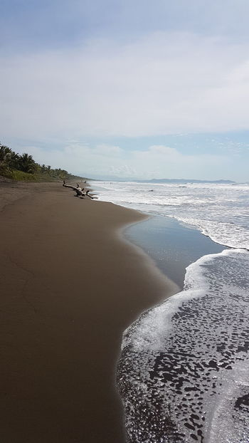 Sea Beach Waves Horizon Over Water Nature Scenics Outdoors Water Coastline Palo Seco Costa Rica❤