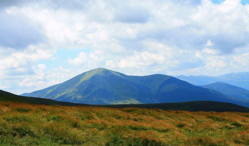 Landscape Hoverla Mountains Ukraine Carpathians Vorokhta Nature Україна Говерла Ворохта гори