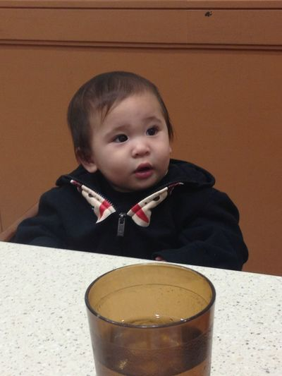 My nephew is such a cutie beeeeear!
