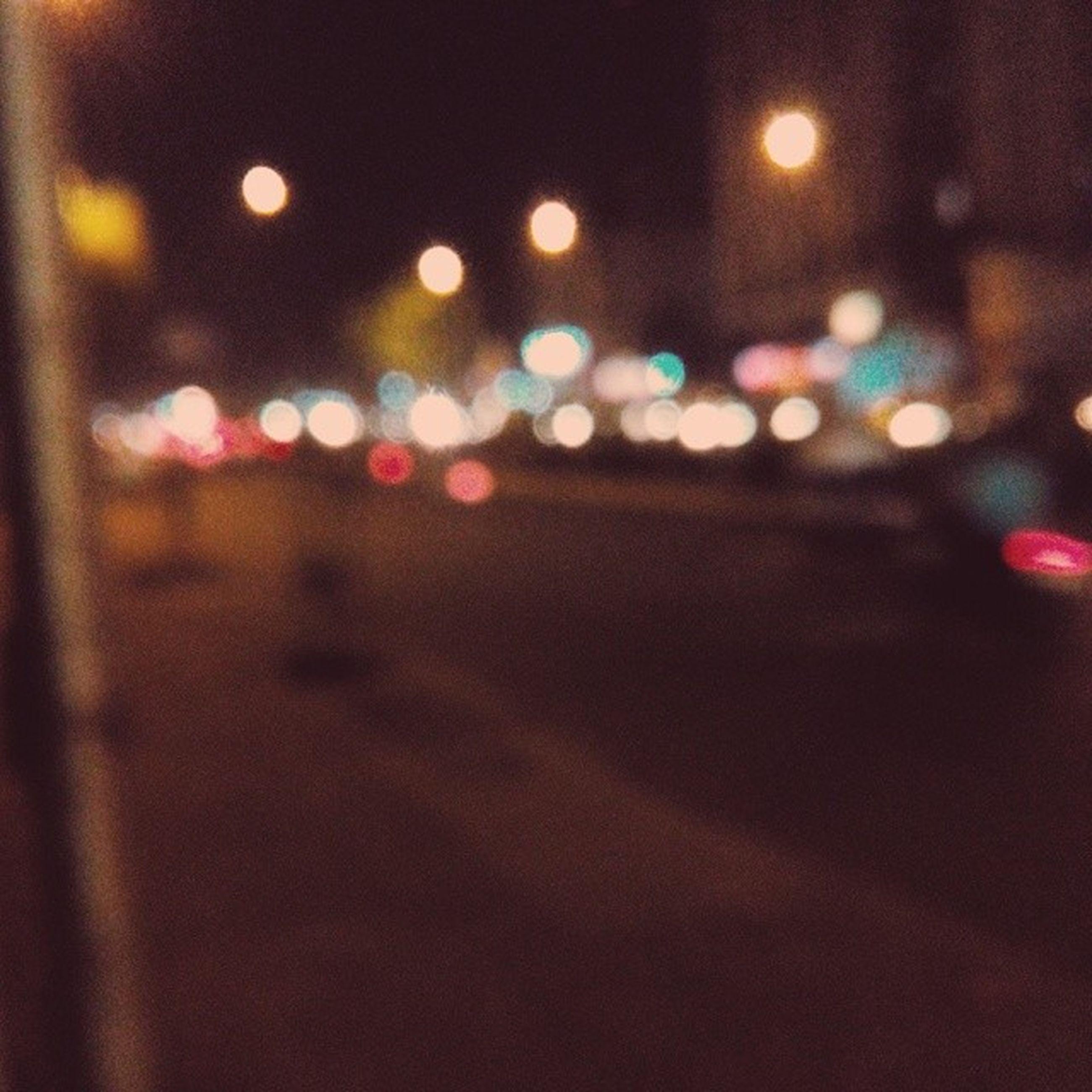 illuminated, night, defocused, multi colored, lighting equipment, street, transportation, light - natural phenomenon, city, lens flare, no people, road, outdoors, street light, red, circle, car, pattern, glowing, close-up