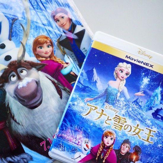 アナ雪フラゲ!Frozen アナと雪の女王 アナ雪 Blue -rayDVD